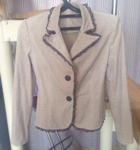 Вельветовый пиджак рр xs