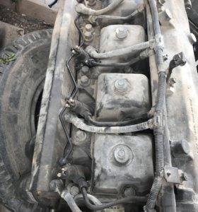Камаз двигатель на запчасти инжекторный КОМАНРАИЛ