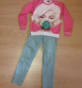 Свитшот и брюки Bershka