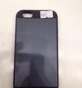 Чехол iPhone 6/6S slim armor черный