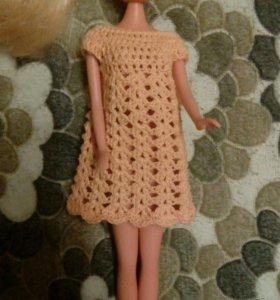 Платье для куклы🚺