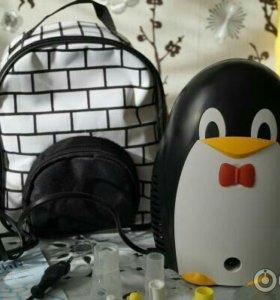 Ингалятор небулайзер детский Пингвин