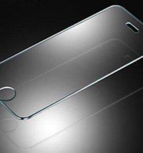 Защитное стекло на айфон ( iPhone 4 / 5 / 6 )