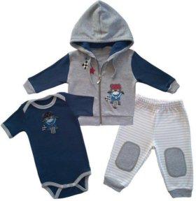 Комплект для малышей, одежда для детей