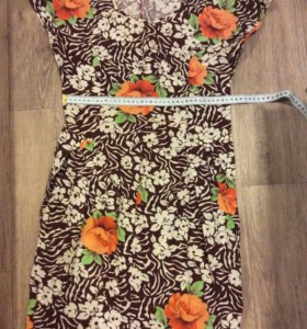 Х/б платье на лето