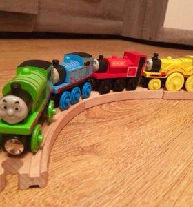 Новые паровозики Томас и его друзья 🚂