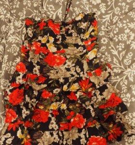сарафан юбка-шорты