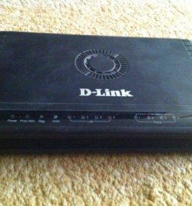Маршрутизатор Dlink (миниАТС)