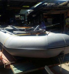 Лодка 320 мотор 5л.с 2015