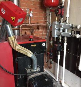 Отопление, вентиляция, ремонт газовых котлов