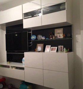 Навесной шкаф под телевизор