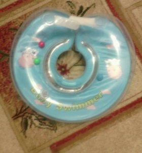 💟💟💟💟Ванночка, горка и круг для купания малыша!