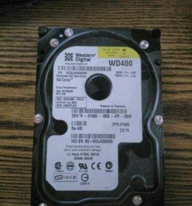 Жесткий диск WD400 40gb