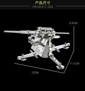 Сборная металлическая 3D модель-Зентная уст.Герман