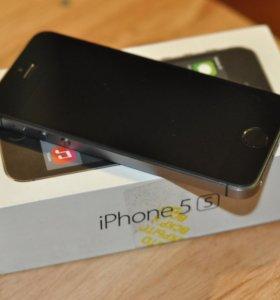 Продам новый айфон 5S на 16