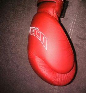 Перчатки боксерские Леко 12унц