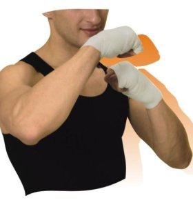 бинты против растяжений,для бокса ;