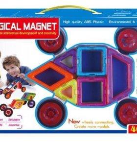 Магнитный конструктор 46 деталей с доставкой