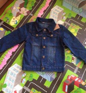 Джинсовая куртка. Новая!