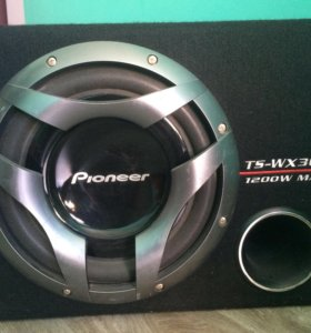 Автомобильный сабвуфер Pioneer Ts-wx303