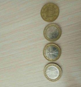Набор евро-монет