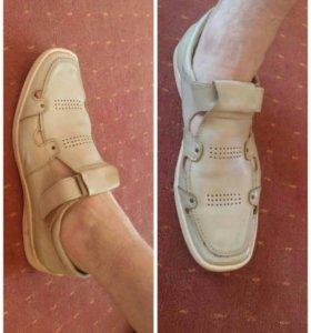 Туфли-мокасины летние