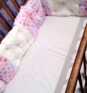 Бортики-подушки. В наличии этот набор. Новый