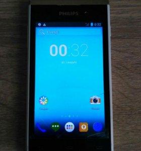 Смартфон, телефон philips S308 white