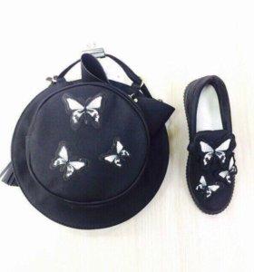 Туфли -сумка