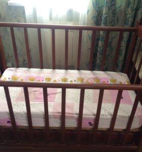 Детская кроватка-колыбелька