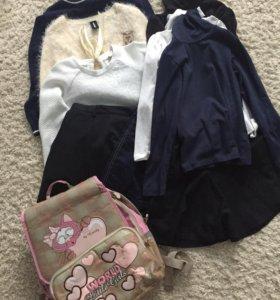 Пакет одежды для первоклассницы