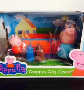 Машинка свинки Пеппи