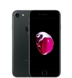 Iphone 7 black почти новый
