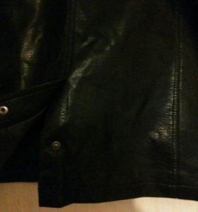 Куртка  мужская качество отл . Эко кожа