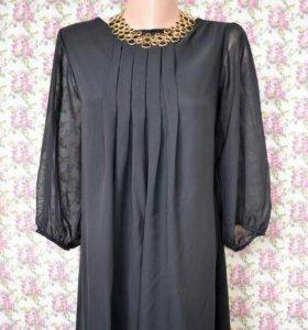 Платье шифоновое размер 42-44
