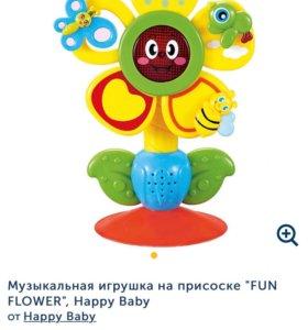 Музыкальная игрушка на присоске НОВАЯ