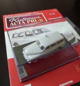 Модель авто Варшава 203 комби (Победа Газ)