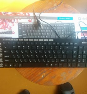 Клавиатура defender mm-810