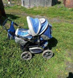Детская коляска зима-лето 2в1