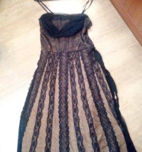 Новое вечернее платье 44-46