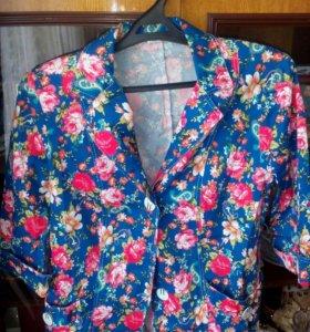 Летний, яркий молодёжный пиджак
