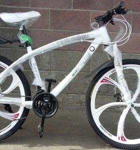 Велосипед БМВ икс три (white-X3)