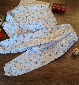 Комплект пижама 122 р-р, новые!