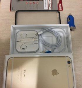 iPhone 6 золотой на 16 ГБ