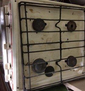 Рабочая газовая плита