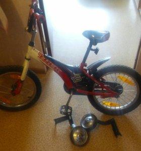 Велосипед детский. 3-7лет