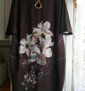 Платье 52-54р