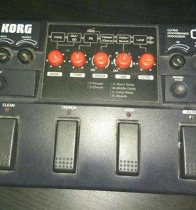 Korg G3 гитарная педаль-процессор