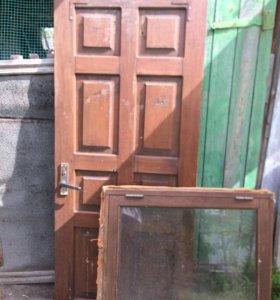 Двери, Окна . два комплекта