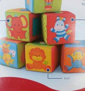 Кубики мякиши Mothercare